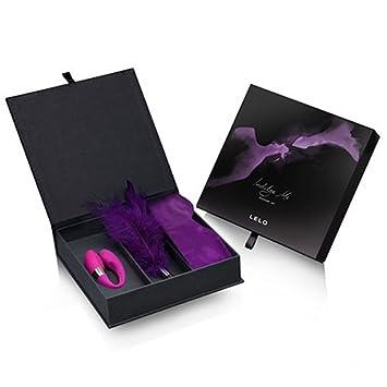 Amazon.com  LELO Hot New Indulge Me Pleasure Set Vibrator Blindfold ...
