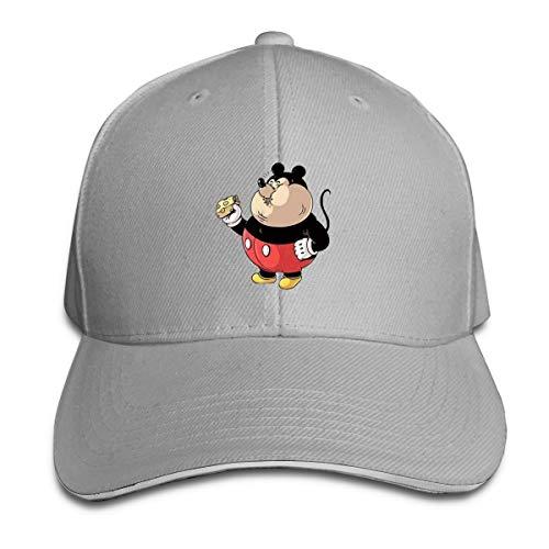 Shenigon Fat Anime Cap Unisex Low Profile Cotton Hat Baseball Caps Gray (Era Beanie Penguins New)