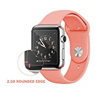 Bestfy Screen Protector for 38mm Apple Watch, Tempered Glass, Anti-Scratch, Bubble-Free for 38mm Apple Watch, 2-Pack from Bestfy
