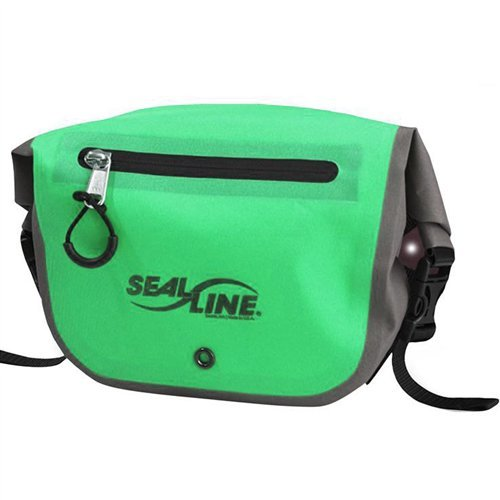 SealLine Seal Pak, Green/Grey (Pak Belt Dry)