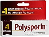 Polysporin First Aid Antibiotic Ointment -1 oz, Pack of 6