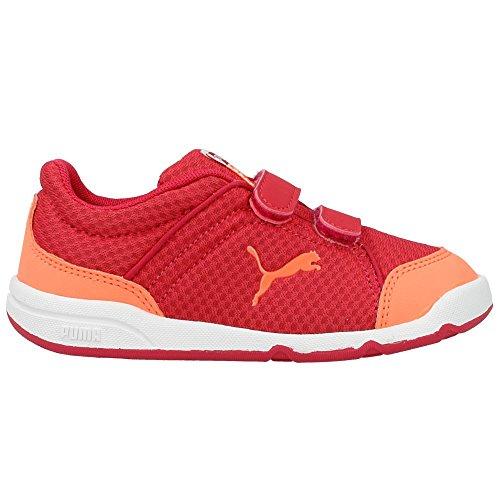 Puma - Stepfleex Kids - 18708504 - Color: Naranja-Rojo - Size: 32.5
