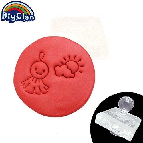 Muppets Mini - The sun and the Muppets pattern Mini Sunny Doll diy soap stamp chaprter seal with handle Z0112QT