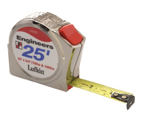 Lufkin 2325D 3/4 X 25' Engineer's Series 2000 Power Return (25' Power Return Tape)