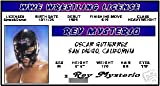 REY Mysterio - WWE Wrestling- Collector Card