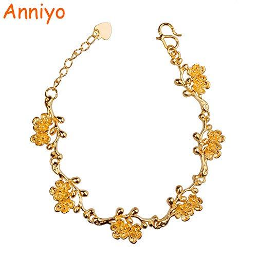 (Length 16cm 3cm) Bangles & Bracelets Blossom Women/Girls Gifts Bransoletka #007707 ()