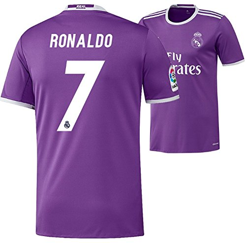 Trikot Herren Adidas Real Madrid 2016-2017 Away (Ronaldo 7, 176)
