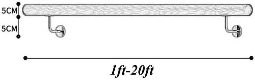 3 m, 20 pies ZXLRH Pasamanos para escaleras