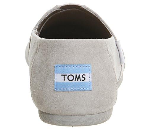 tela Burlap Grey de Exclusive Classic Toms hombre Drizzle 1004A07 Zapatillas para C5qXqcUwB