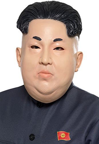 Kim Jong Un Mask - North Korea Dictator (Dictator Costume Women)