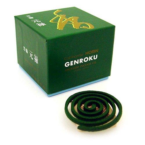 Shoyeido's Returning Spirit Incense, Set of 10 Coils - Gen-roku