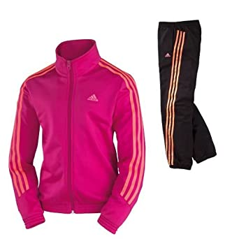 9662d1e66884c ADIDAS Kimana Survetement Fille Enfant 12 ans: Amazon.fr: Vêtements ...