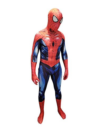 AestheticCosplay Bagley Spider-Man Cosplay Costume | Bagley Spiderman Suit | Bagley Costume | Spiderman Bodysuit (Medium)