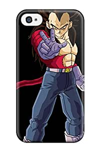 7169939K49306412 Case Cover Protector Specially Made For Iphone 4/4s Vegeta Ssj