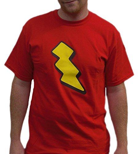 Skeeter Valentine T-Shirt Doug Lightning Bolt Costume Funnie Funny - Lightning Bolt Costumes