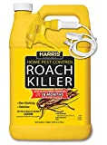 Harris HRS-128 Roach Killer Home Pest Control 18 Month Ready-to-Use 128oz, Clear
