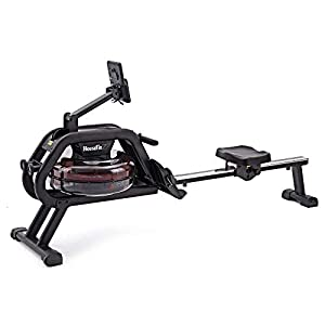 Well-Being-Matters 41%2BPgzrPjHL._SS300_ HouseFit Water Rower Rowing Machine with Bluetooth APP 330Lbs Weight Capacity for Home use Water Resistance Row Machine…
