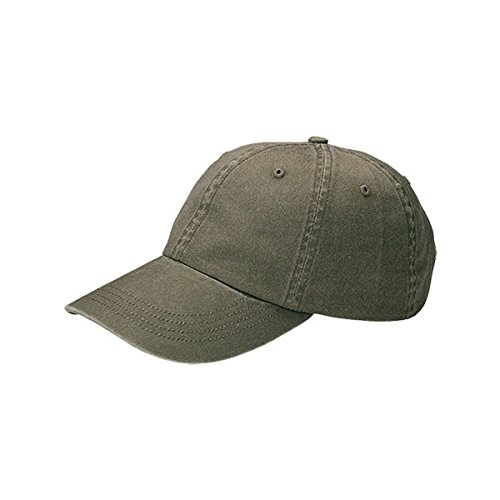 Hats & Caps Shop Low Profile | (Uns) Pigment Dyed Cotton Twill Cap - By TheTargetBuys | (OLIVE) (Dyed Solid Pigment Cap Twill)