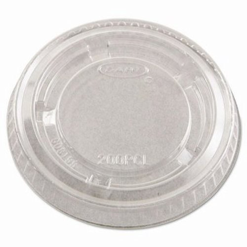 Dart 200PCL Conex Clear Portion Cup Lid 125-Pack (Case of 20)