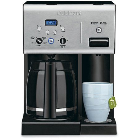 Cuisinart 12-Cup Programmable Coffeemaker with Hot Water System and Digital Clock (Cuisinart Two Cup Coffee Maker compare prices)
