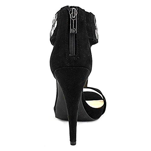 Jessica Simpson - Sandalias de vestir para mujer Black Microsuede