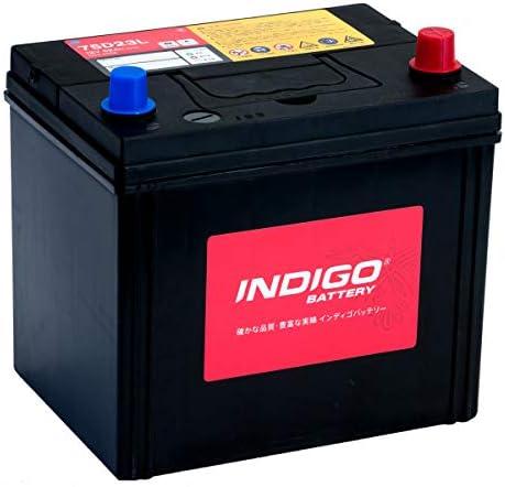 インディゴ バッテリー 75D23L デリカD5 DBA-CV5W H19/1~H23/12