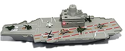 """18"""" long Aircraft Carrier with Sound/Lights and 8 Mini Jets (In Retail Box)"""