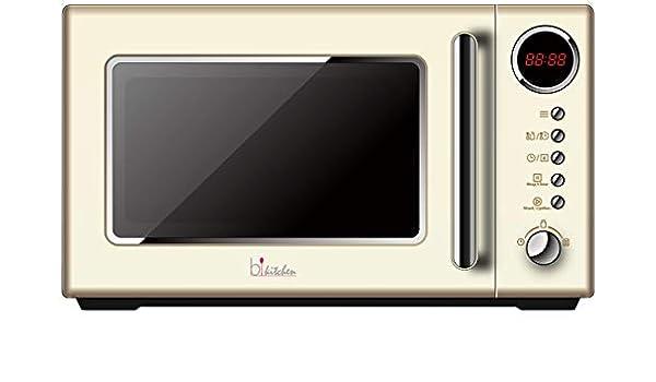 bkitchen Cook 815 - Microondas Retro (700 W, 20 litros, 5 Niveles ...