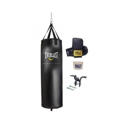 Dual Station Heavy Bag Stand, 70-lb Heavy Bag Kit and Speedbag by unknown (Image #1)