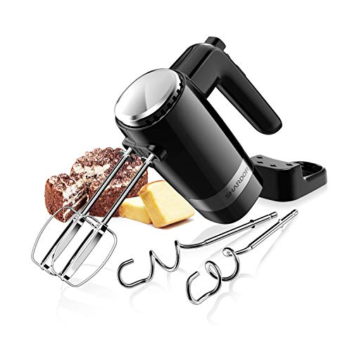 SHARDOR Hand Mixer Powerful 300W Ultra Power Handheld Mixer Electric Hand Mixers with Turbo Heavy Duty Motor