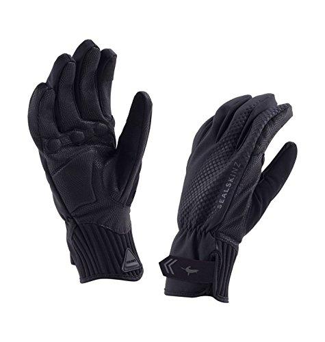 SEALSKINZ Waterproof All Weather Cycle Glove, Black, Medium