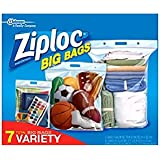 Ziploc Big Bags Combo Pack 7 pk.