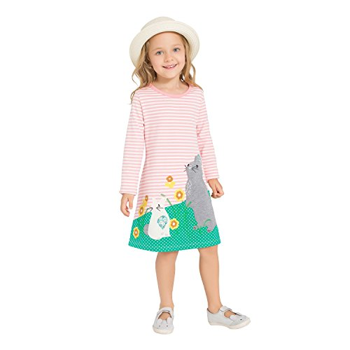 Pink Rabbit Dress - 1