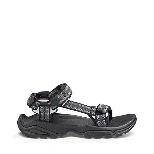 Teva Mens Terra Sandal, Cross Terra Blak, 42.5 D(M) EU/8.5 D(M) UK