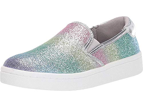 - Kenneth Cole REACTION Kids Girl's Luna Lylah (Little Kid/Big Kid) Rainbow Silver 13 M US Little Kid