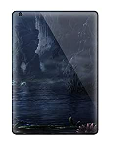 Waterdrop Snap-on Cave Fantasy Landscape Abstract Fantasy Case For Ipad Air