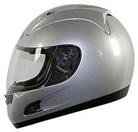Vega Altura Full Face Helmet (Silver, Large) from Vega