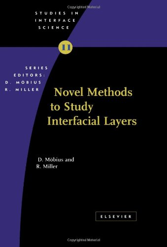 Novel Methods to Study Interfacial Layers, Volume 11 (Studies in Interface Science)