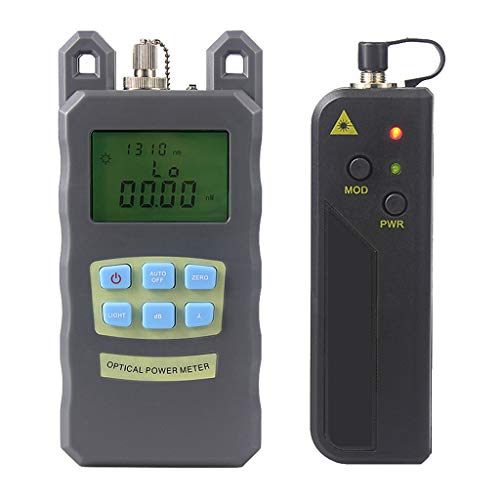 SM SunniMix 1Set -70dBm~+10dBm 850~1625nm Optical Power Meter Tester FC SC Handheld Optical Power Meter + 20mW Visual Fault Locator Pen by SM SunniMix (Image #3)