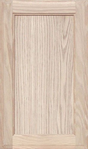 Unfinished Oak Square Flat Panel Cabinet Door by Kendor, 22H x - Mdf Kitchen Cabinet Doors