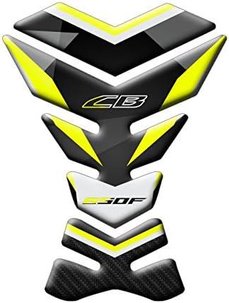 Protector de depósito de moto Honda CB 650 F | protector de depósito para Honda GP-244(M). FLUO: Amazon.es: Coche y moto