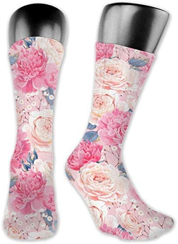 Girls Socks Mid-Calf Hippie Psychedelic Winter Unique For Party