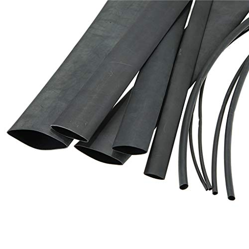 Cable Management Sleeve Neoprene Heat Shrink Tubing Cuttable Cord Organizer for TV Computer Desk