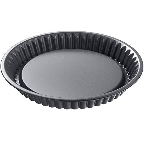 Kaiser 23 0063 7112 La Forme Plus Flan Pan, Black