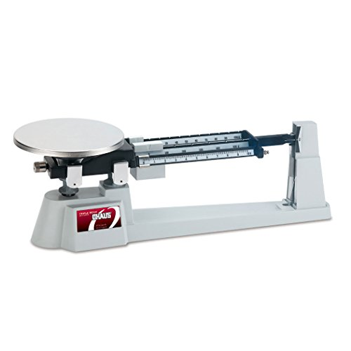 Ohaus-80000012-Triple-Beam-Mechanical-Balance-with-Stainless-Steel-Plate-610g-Capacity-01g-Readability
