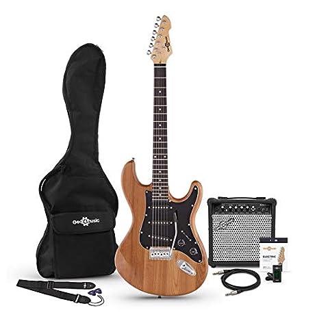 Paquete de Guitarra Electrica LA II SSS + Amplificador Natural ...