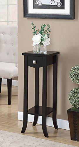 Convenience Concepts 121154ES Newport Prism Tall Plant Stand