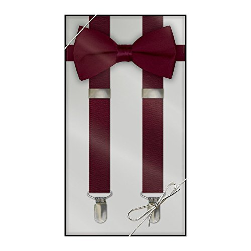 Suspender & Bow Tie Set (Adult, (Bow Ties And Suspenders)
