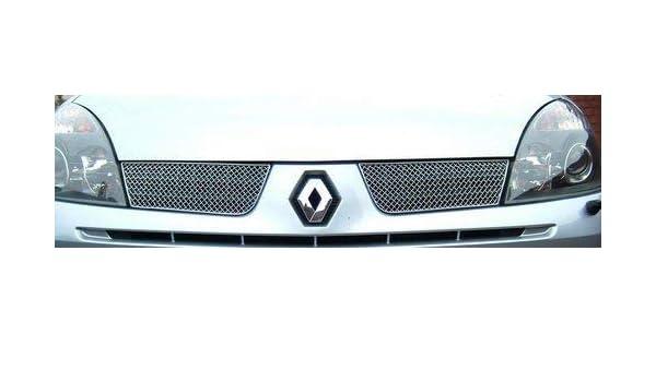Renault Clio Aftermarket Superior Delante Parrilla Deportiva Set ZRN9104: Amazon.es: Coche y moto