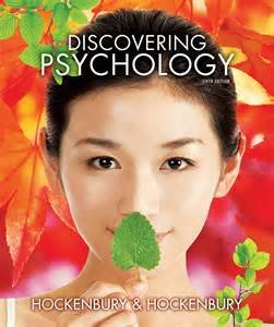 PSYC 2301 Discovering Psychology 6th edition